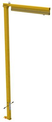 3M™ DBI-SALA® Flexiguard™ Jib Fixed Height Mast Anchor 8530571, 1 User, Yellow, 21 ft 3M Product Number 8530571, 3M ID 70007600318 - EMU™ fixed height jib with 21 ft. (6.4 m) anchor height.