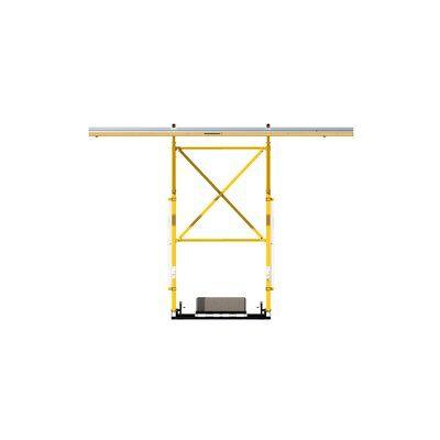 32 ft. (9.8m) rail width
